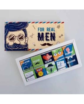 Шоколадный набор Real Men