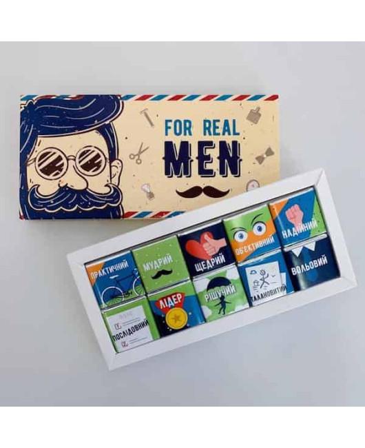 Набор шоколада Real Men купить Харьков