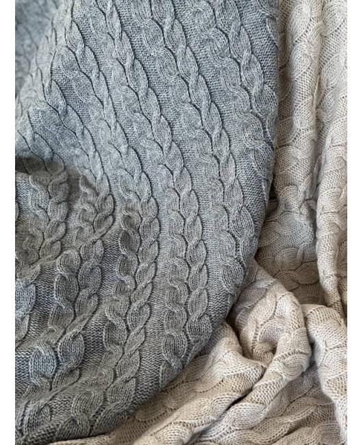 Красивый серый плед Харьков купить