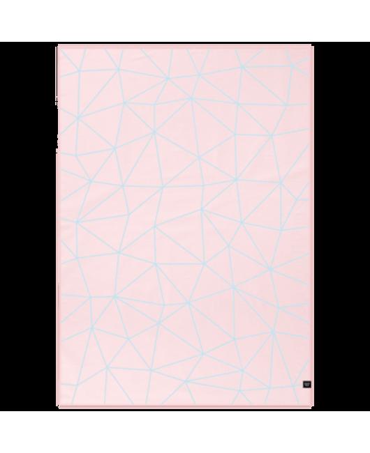 Плед для девочки розовый