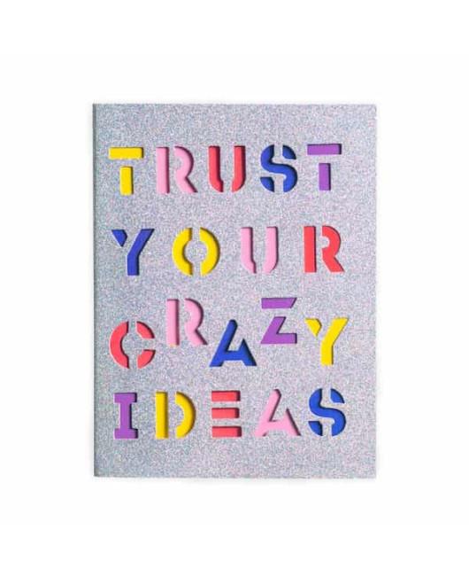 Тетрадь с блестками Crazy Ideas купить
