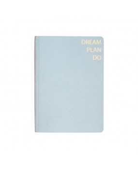 Блокнот из нубука Dream Plan Do