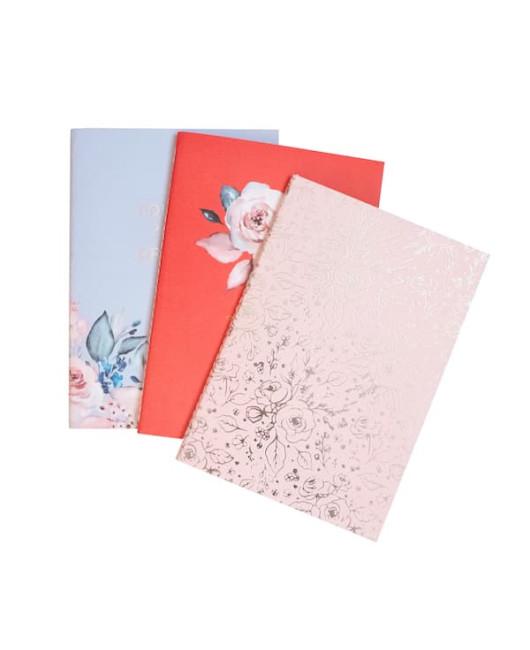Набор тетрадей Floral (3шт)