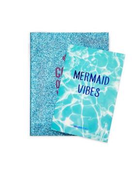 Набор тетрадок в линию Mermaid (2 шт)