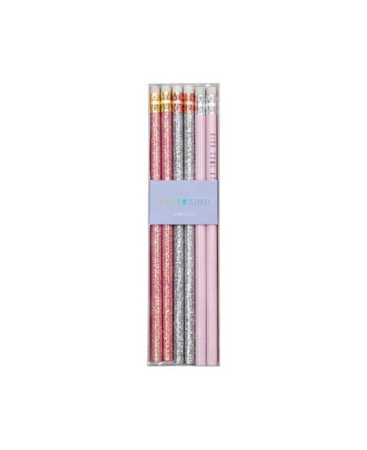 Простые карандаши с глиттером Украина