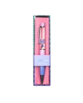 Ручка с жидкостью и глиттером Unicorn