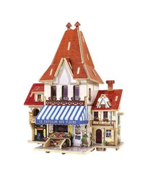 3D Конструктор Цветочный магазин