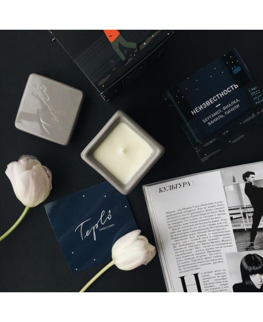 Ароматическая свеча Teplo в керамике Харьков