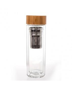 Бутылка-термос с двойными стенками