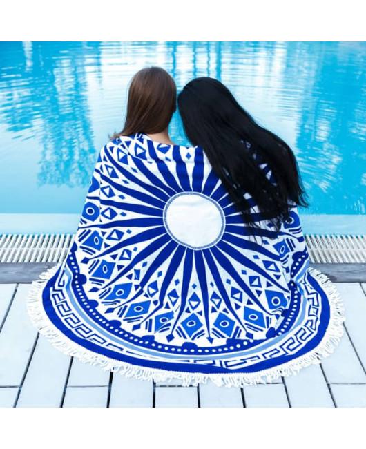 Круглое пляжное полотенце купить в Харькове