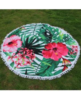 Пляжное полотенце Цветы