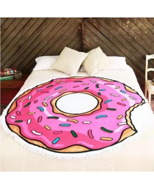 Круглое пляжное полотенце Donut купить