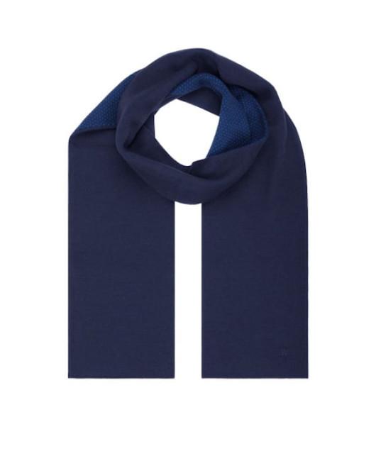 Длинный синий шарф Харьков